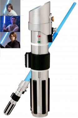 Spada Laser Adulto Anakin Skywalker o Luke azzurra