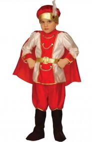 Costume carnevale Bambino Principe Delle Nevi