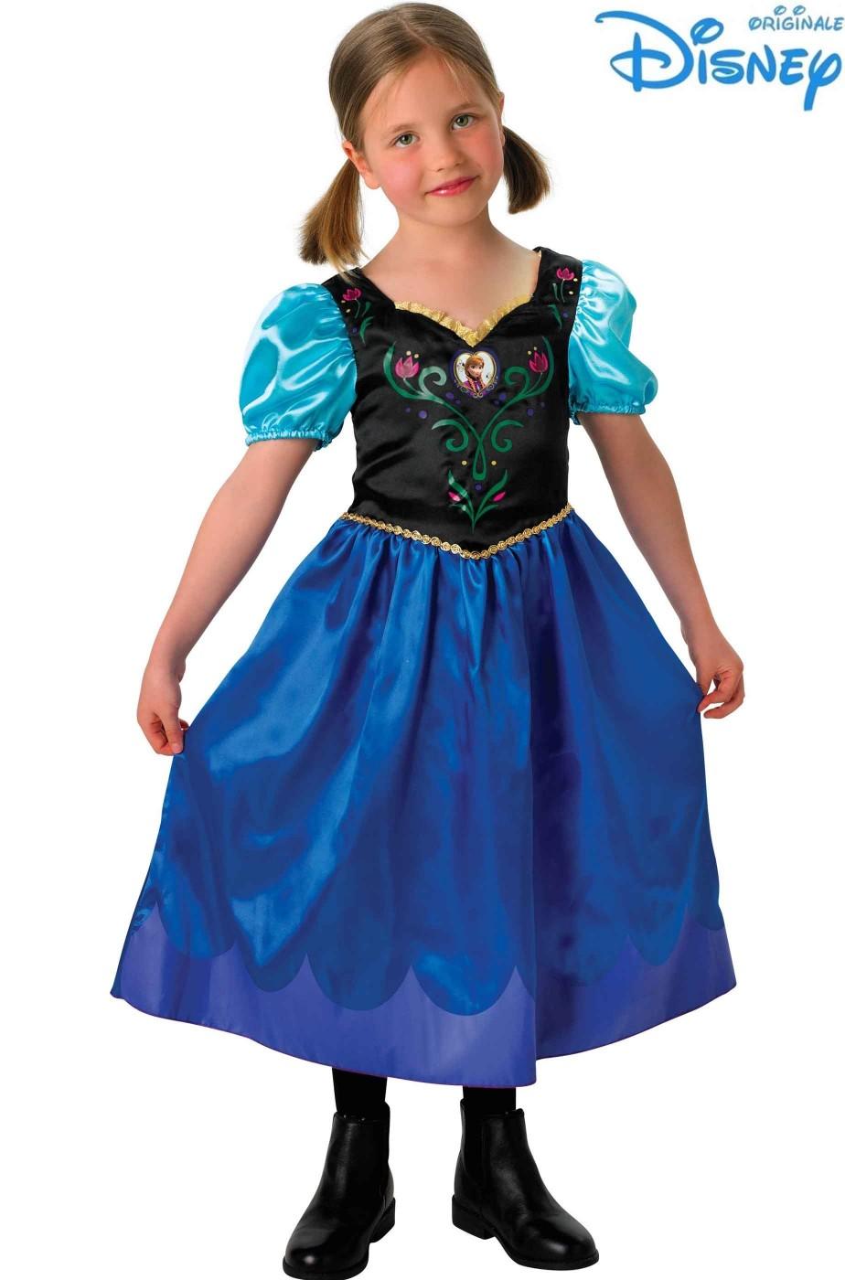 Costume bambina di Anna Frozen Disney