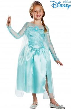 Costume Bambina Frozen Elsa Regina delle Nevi De Luxe