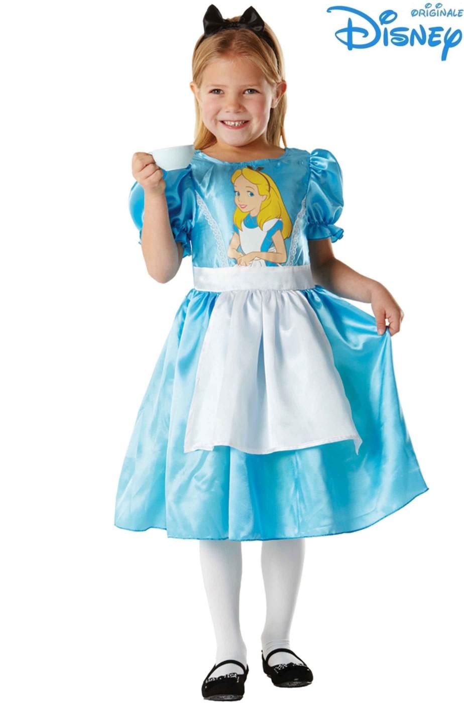 Costume carnevale bambina Alice nel Paese delle Meraviglie Classico Disney