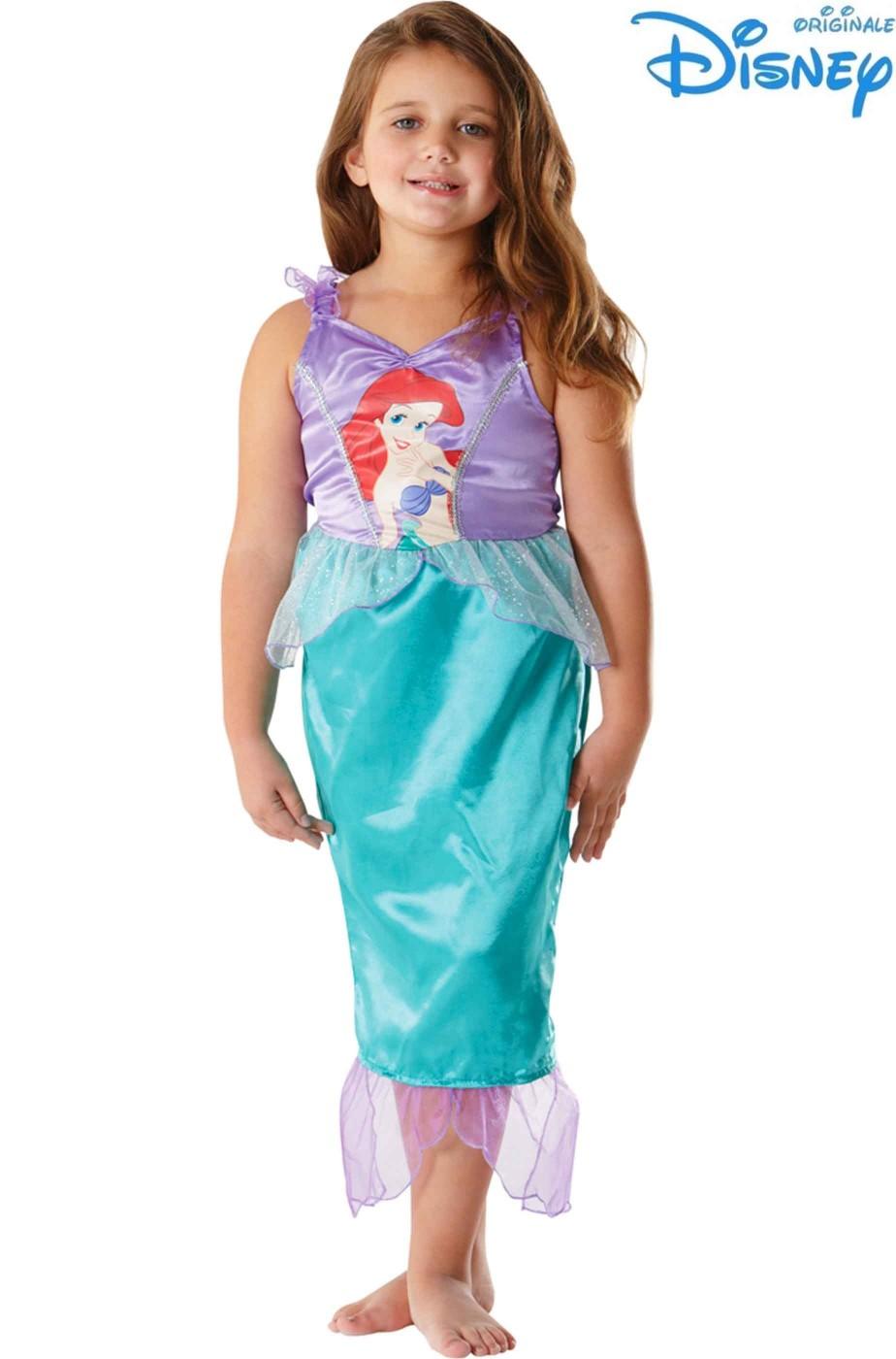 ufficiale più votato saldi più recente Vestito di Carnevale da bambina di Ariel, La Sirenetta Disney
