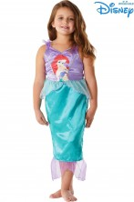 Costume carnevale bambina Ariel La Sirenetta Disney