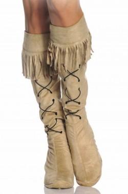 Copristivale donna Indiana Pocahontas