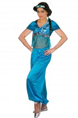Costume donna da araba Jasmine odalisca danza del ventre mille e una notte
