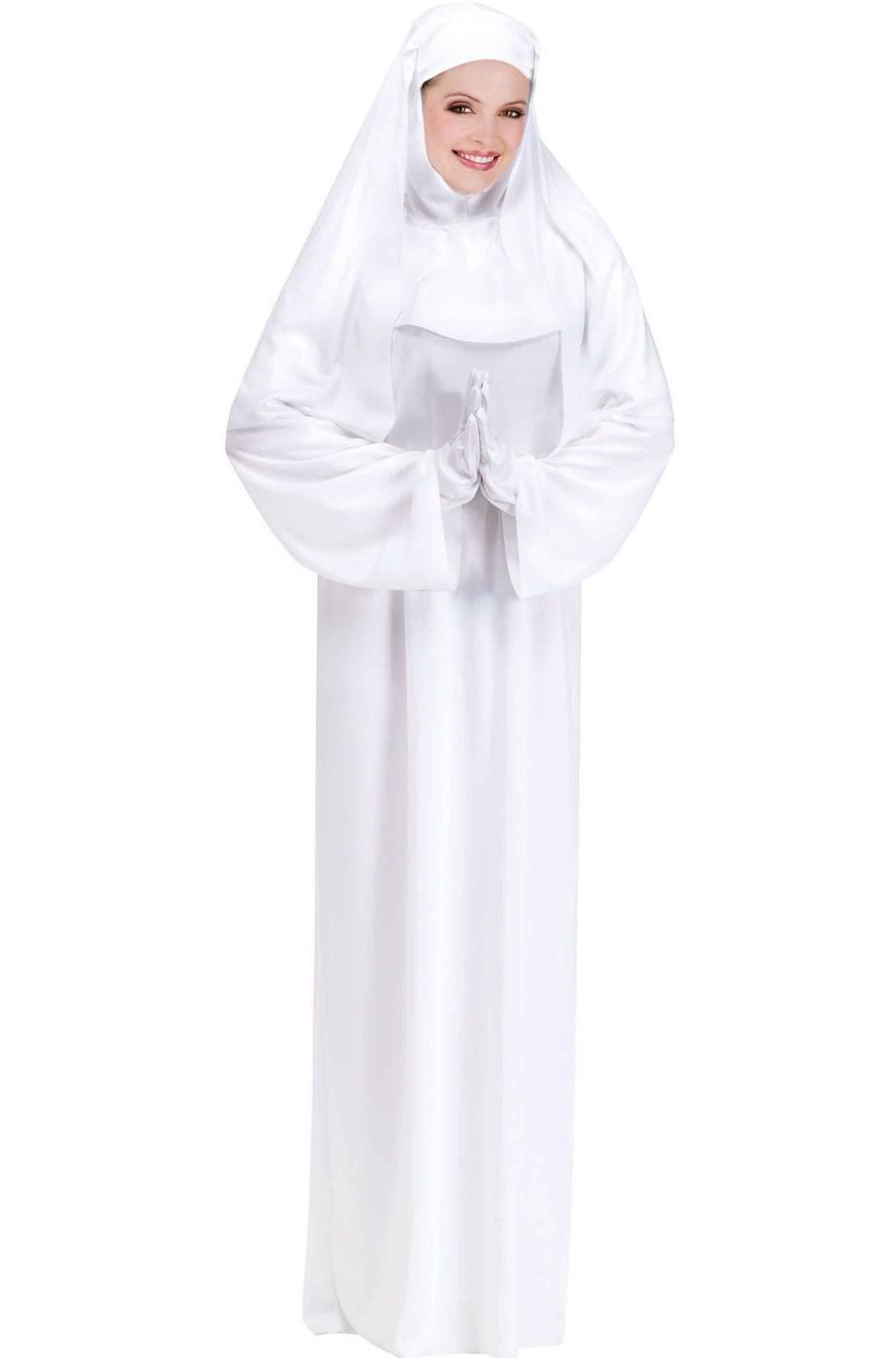 Costume Suora o monaca Bianca