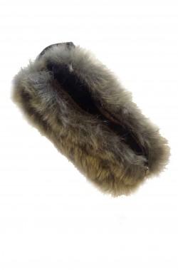 Borsa o Borsetta sacchetto medievale di pelliccia finta