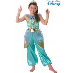 Costume carnevale bambina Jasmine Glitter Bambina Disney
