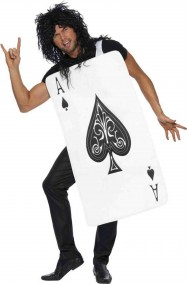 Costume unisex carta di picche