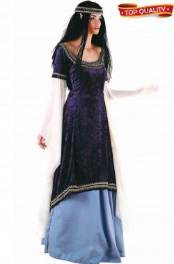 Costume donna Elfa lusso o celtica