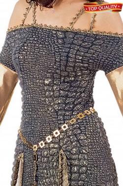 Costume donna Regina Medievale Meraviglioso. Qualita' teatrale celtica.