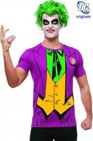 T-shirt DC Comics Joker con parrucca