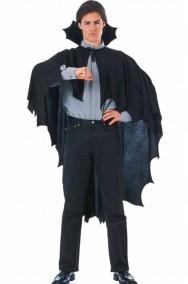 Mantello da vampiro adulto con colletto rigido