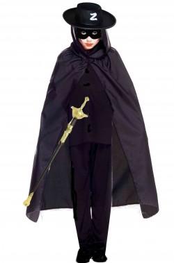 Kit per vestito di carnevale da Zorro
