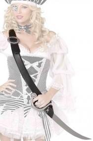 Cinturone a bandoliera da pirata con sciabola