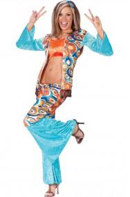 Costume donna Anni 70 Hippy Chic