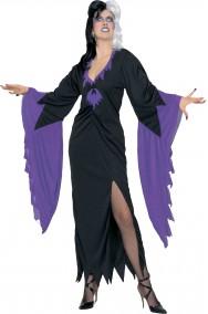Vestito di Halloween da donna lungo Vampira mortisia