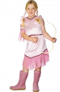 Costume carnevale Bambina Indiana