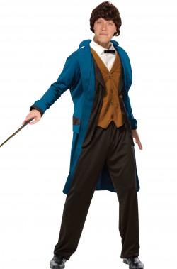 Costume di Newt Scamander Cosplay adulto