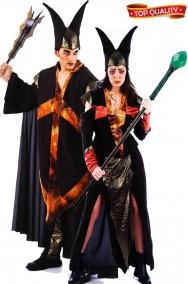 Coppia di costumi Halloween Maghi della Notte
