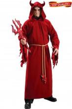 Costume uomo diavolo Mefistofele malefico