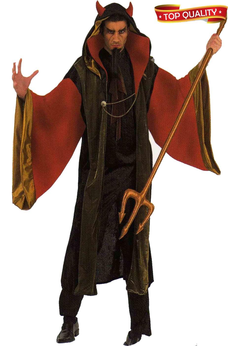 Costumi Halloween Adulti.Costume Uomo Diavolo Lucifero