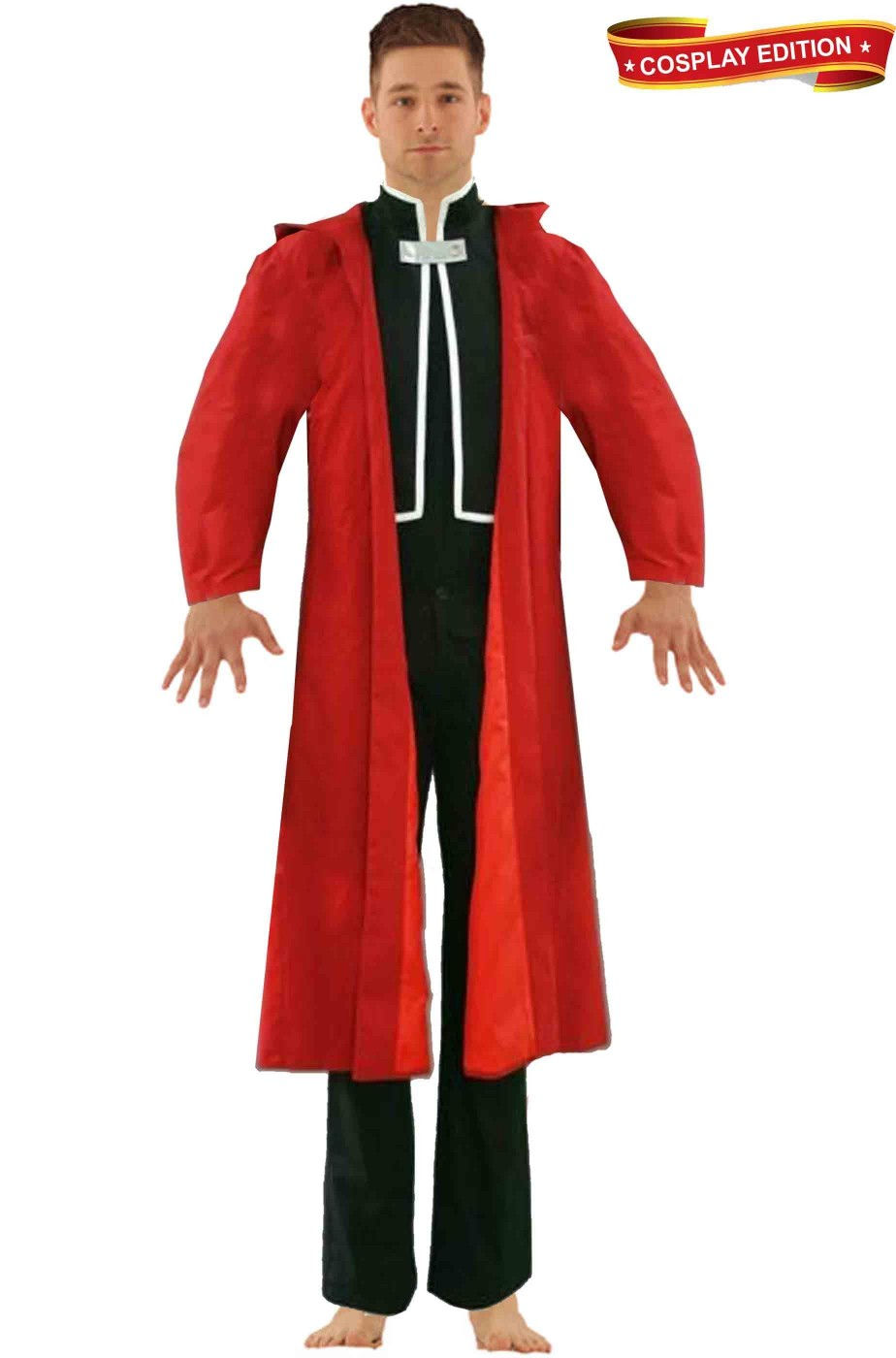 Full Metal Alchemist Edward Elric Costume Cosplay