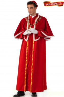 Costume uomo cardinale vescovo Papa Borgia