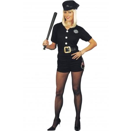 Costume donna Poliziotta adulta con calzoncino