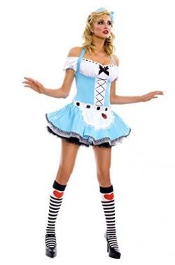 Costume Alice nel paese delle meraviglie adulta