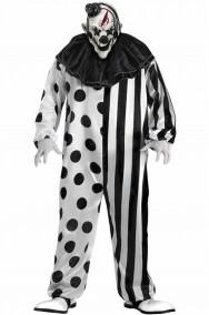 Clown Horror Killer clown Bianco e Nero