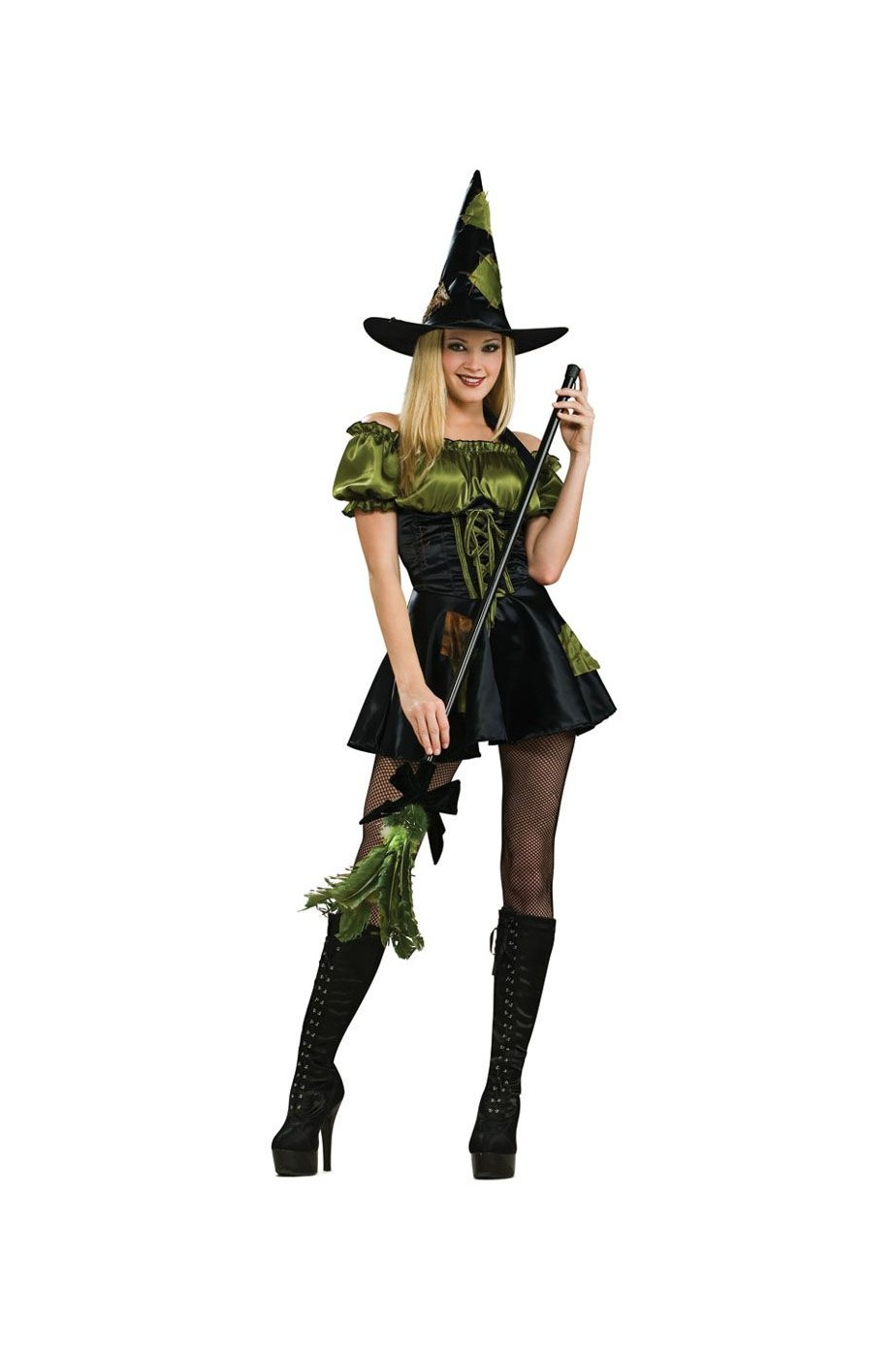 Vestiti Halloween Strega.Vestito Di Halloween Da Strega Patch Del Mago Di Oz Sexy