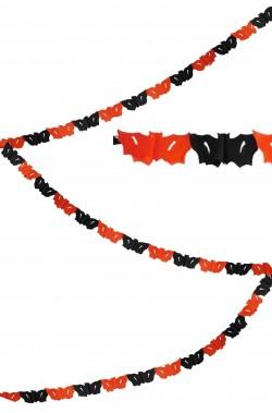 Allestimento Halloween striscione pipistrelli Halloween 4 m