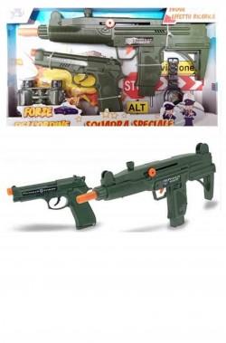 Pistola mitragliatrice giocattolo, pistola e accessori