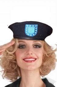 Cappello Basco Nero caschi blu ONU donna