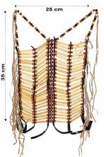 Pettorale o cintura da indiano pellerossa molto realistico