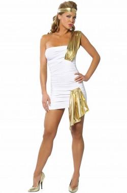Costume donna antica romana o dea greca o da angelo