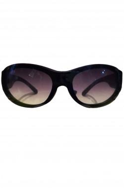 Occhiali Anni 80 neri lente UV