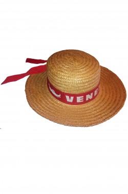 Cappello Paglietta da gondoliere veneziano