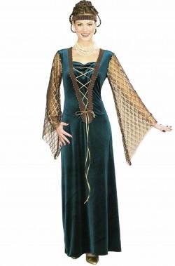 Costume dama medievale rinascimentale donna adulta o ginevra giulietta