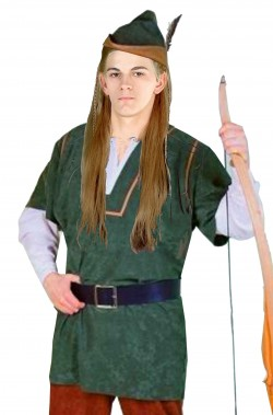 Costume adulto Robin Hood o Peter Pan