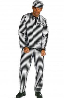 Costume uomo Detenuto o carcerato