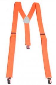 Bretelle fluo neon arancioni