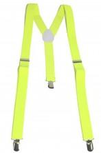 Bretelle fluo neon gialle