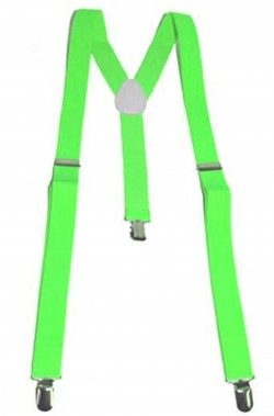 Bretelle fluo neon verdi