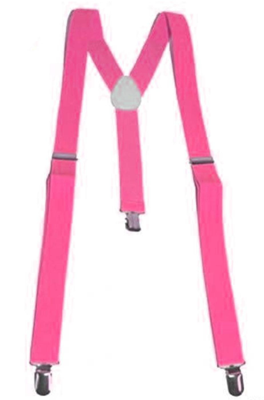 Bretelle fluo neon rosa