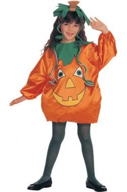 Costume carnevale Bambina Zucca