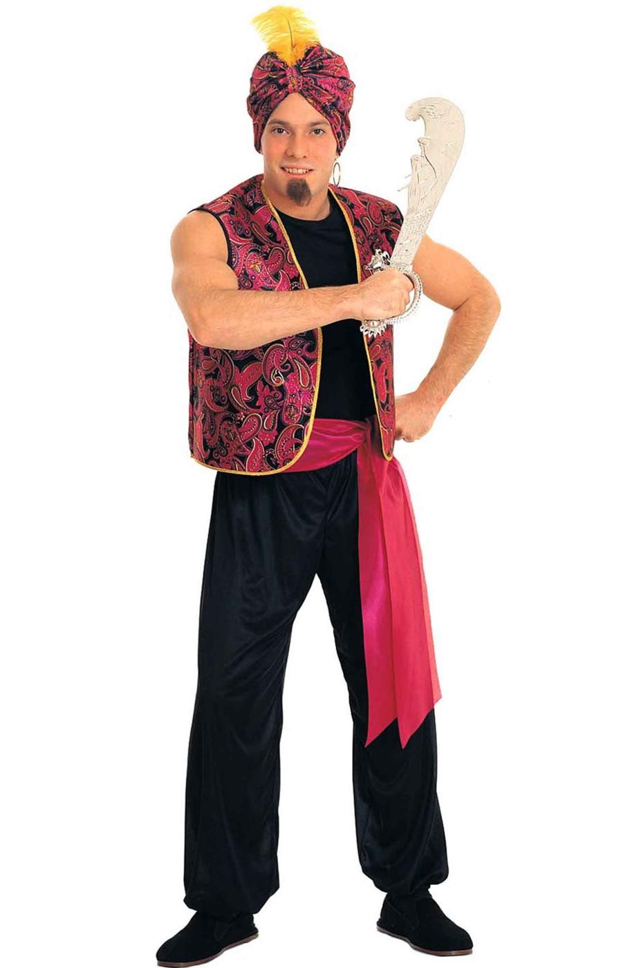 Costume uomo Sandokan o Aladino