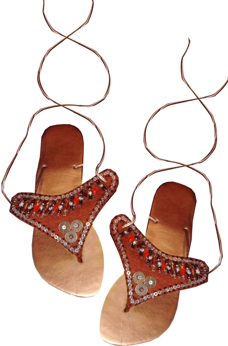 Scarpe sandali da donna per costume orientale