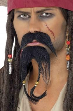 Trucco: Baffi e Barba a due punte da Pirata Sparrow